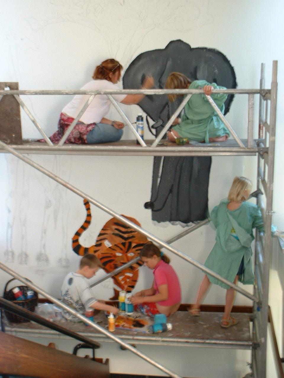 Leben in afrika projekt des 4 jahrgangs im schuljahr 2005 2006